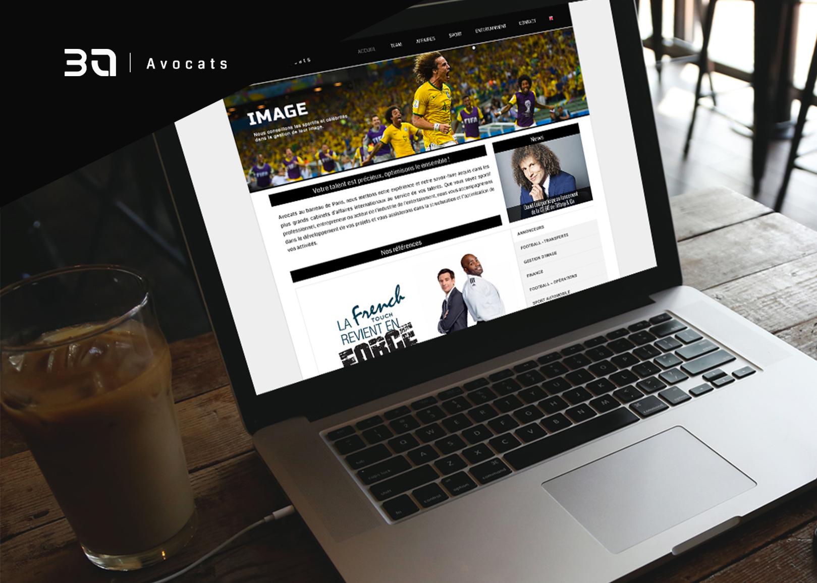 Site web 3A Avocats