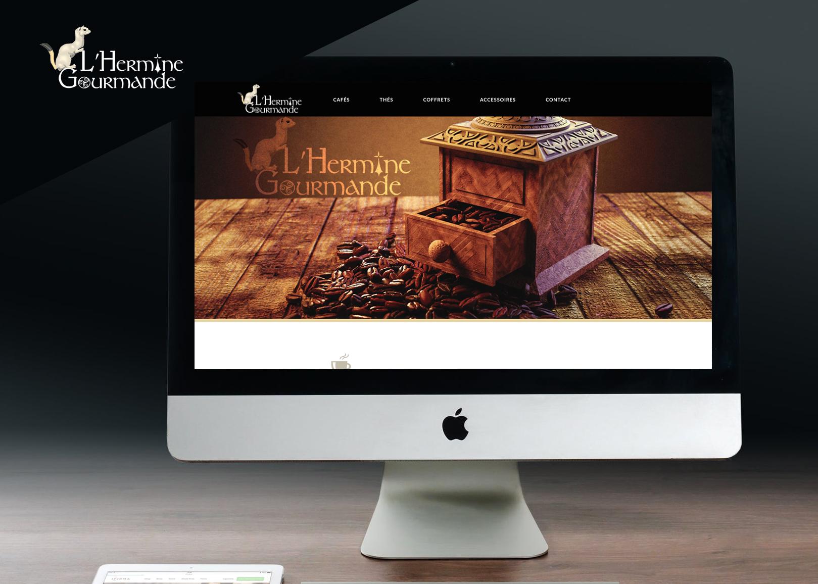 L'Hermine Gourmande - Site web