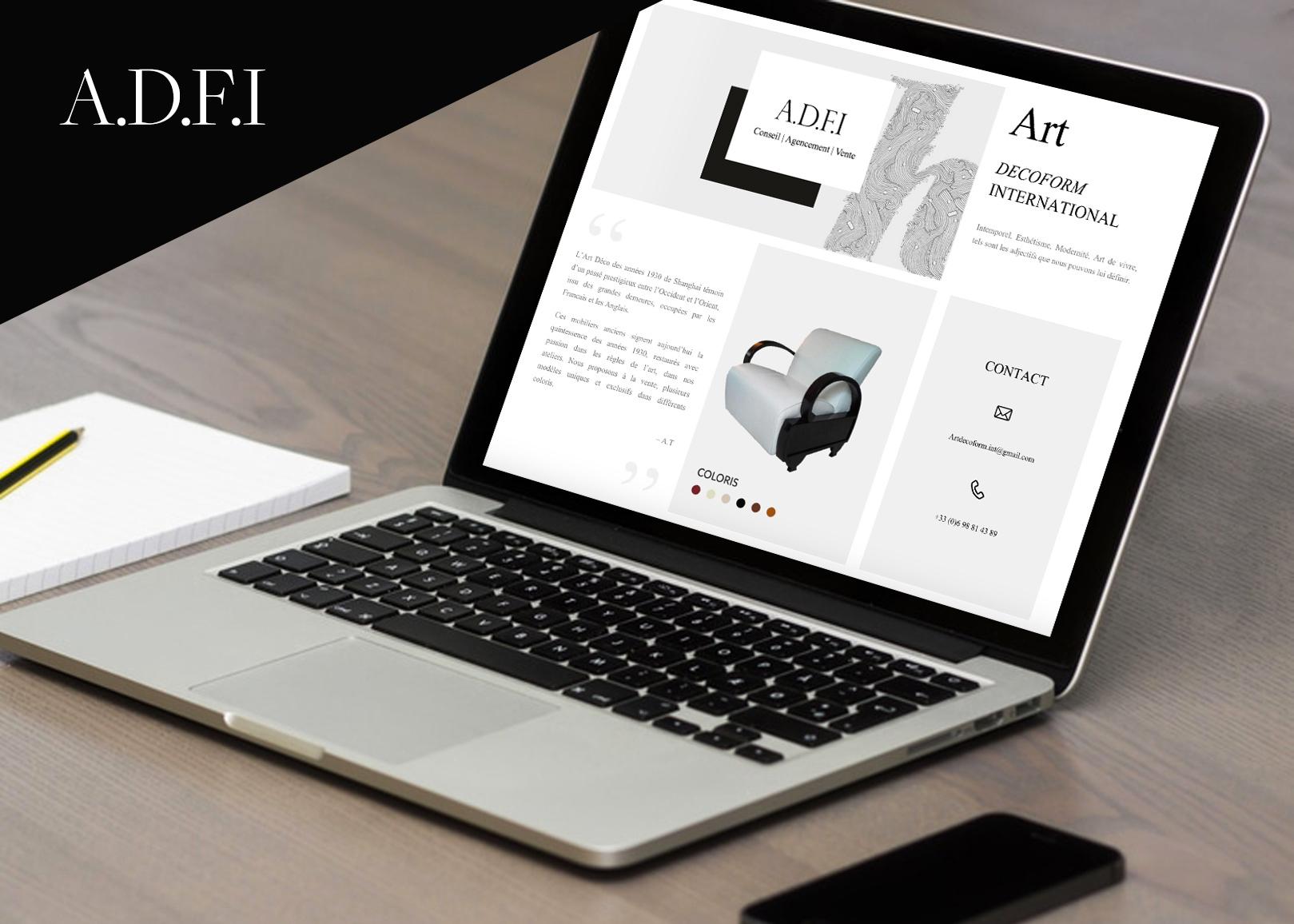 ADFI Site web